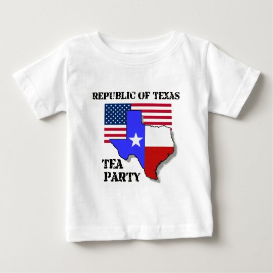 Republic of Texas Tea Party Baby T-Shirt