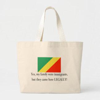 Republic of the Congo Canvas Bags