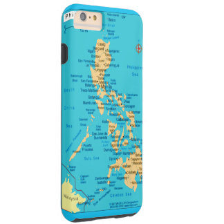 Republic of the Philippines Map, iPhone 6/6s  Case