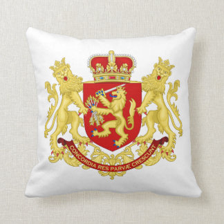 Republic of United Netherlands  Coat of Arms Throw Pillow