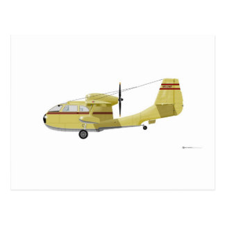 Republic  RC-3 Seabee Postcard
