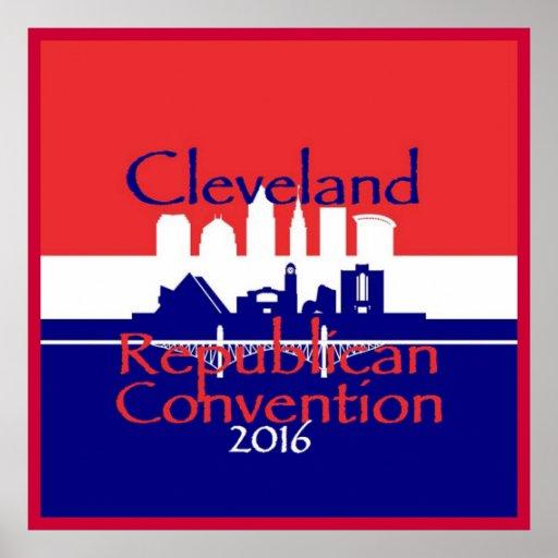 Republican 2016 Convention Poster Print