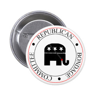 Republican Bondage Committee 2 Inch Round Button