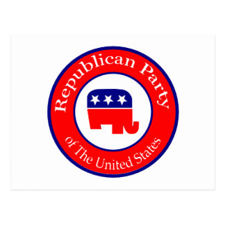 Republican Campaign Postcard