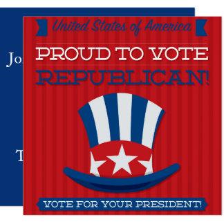 Republican Card