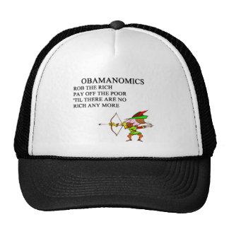 republican conservative anti obama joke mesh hats
