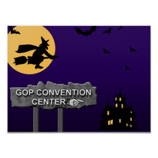 Republican Convention Center Poster