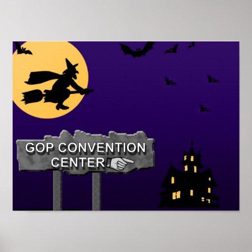 Republican Convention Center Poster