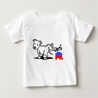 Republican Dog Baby T-Shirt