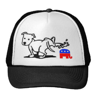 Republican Dog Trucker Hat