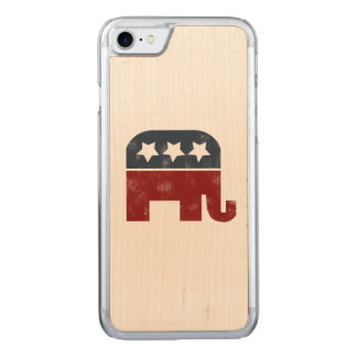 republican elephant carved iPhone 7 case