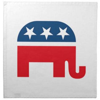 Republican Elephant Cloth Napkin
