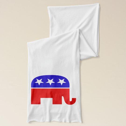 Republican Elephant Scarf Wrap