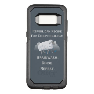 Republican 'Exceptionalism': Brainwash OtterBox Commuter Samsung Galaxy S8 Case