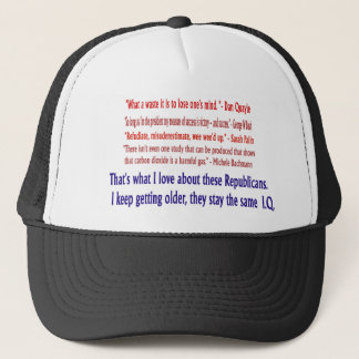 Republican I.Q. Hat