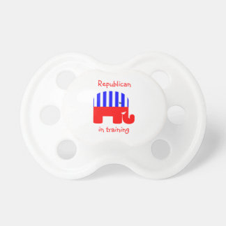 Republican In Training Pacifier