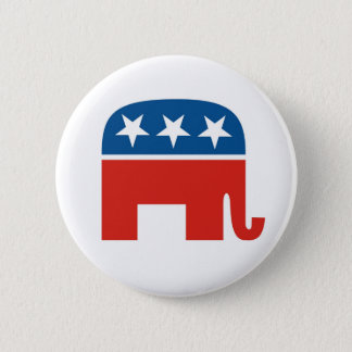 Republican Party 2012 2 Inch Round Button
