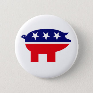 Republican Pig button