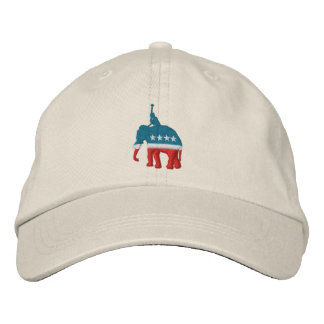 Republican Polo Player Embroidered Hat