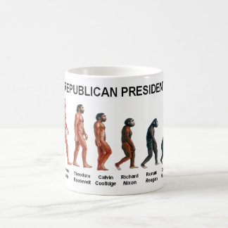 REPUBLICAN PRESIDENTS COFFEE MUG