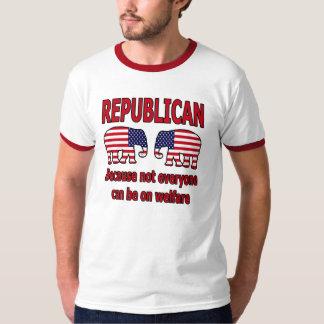 Republican Red Welfare Shirt