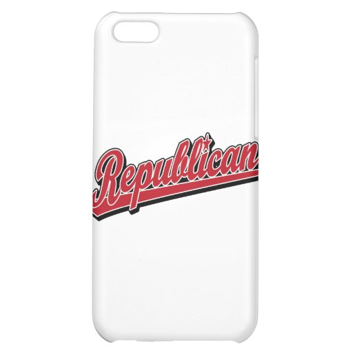 Republican Script Logo Deluxe Red iPhone 5C Cover