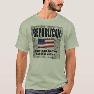 Republican Welfare Shirt - money