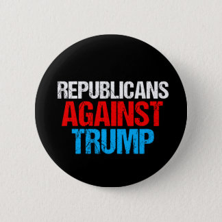 Republicans Against Donald Trump Bold 2 Inch Round Button