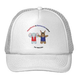 Republicans & Democrats United Hat