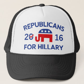 Republicans For Hillary Trucker Hat