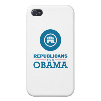 Republicans for Obama Cases For iPhone 4