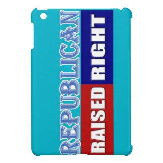 REPUBLICANS - RAISED RIGHT iPad MINI CASES
