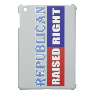 REPUBLICANS - RAISED RIGHT iPad MINI COVERS