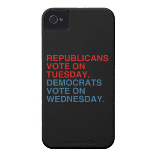 REPUBLICANS VOTE ON TUESDAY iPhone 4 Case-Mate CASES