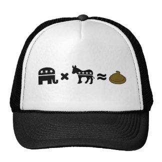 Republicans x Democrats = ? Trucker Hat