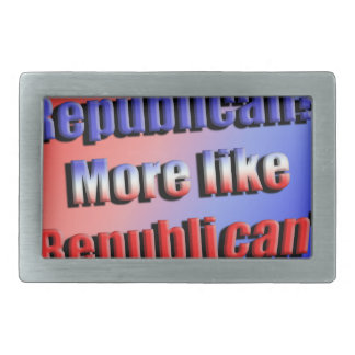Republicant Belt Buckles
