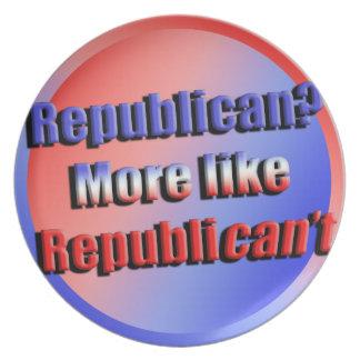Republicant Plate