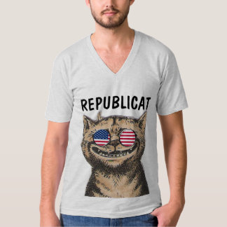 REPUBLICAT Funny Republican CAT T-shirts