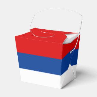 Republika Srpska Flag Favor Box