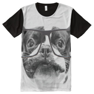 Reputable French Bulldog with Glasses