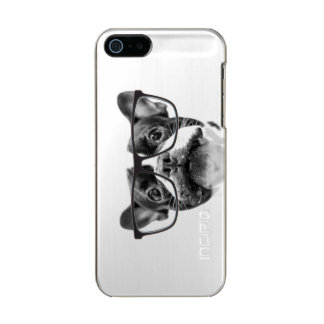 Reputable French Bulldog with Glasses Incipio Feather® Shine iPhone 5 Case