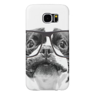 Reputable French Bulldog with Glasses Samsung Galaxy S6 Cases