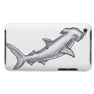 Requin de poisson-marteau étuis barely there iPod