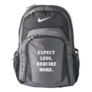Require More Nike Backpack