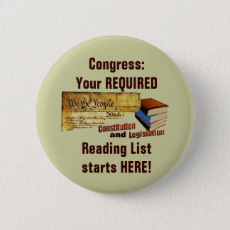 Required Reading 2 Inch Round Button