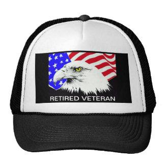 RERTIRED VETERAN TRUCKER HAT