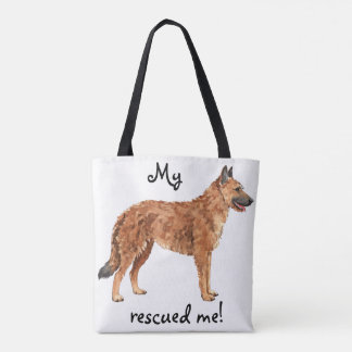 Rescue Belgian Laekenois Tote Bag