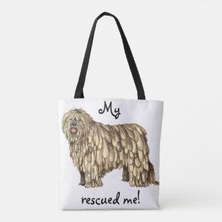 Rescue Bergamasco Tote Bag