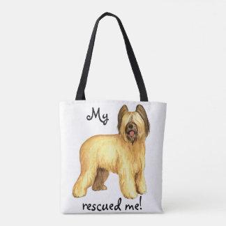 Rescue Briard Tote Bag