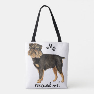Rescue Brussels Griffon Tote Bag